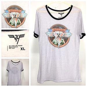 Tops - Vintage Van Halen T Worn and Loved a Lot! XL C291